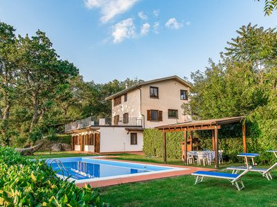 Photo for Beautiful country house with private pool