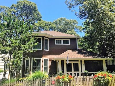 """Photo for Gorgeous in """"The Pines"""" with Plunge Pool! Short Walk to Ocean in Rehoboth Beach."""