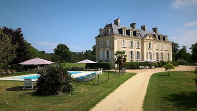 Photo for Discover the Loire Valley ... and sleep in a Loire Château: Suite at La Mothaye
