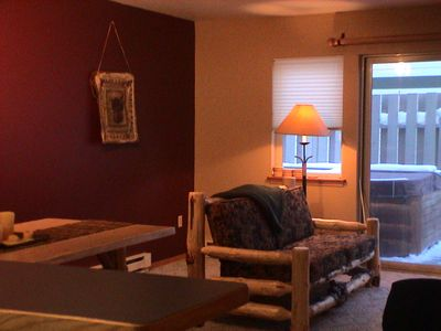 Photo for Cozy Loveshack Condo - Nestled in the Heart of Meadow Village