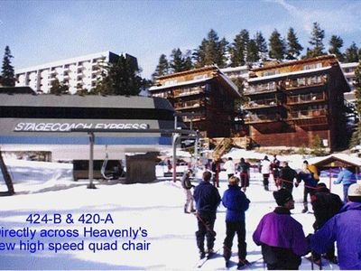 Ski IN/OUT Skier/Snowboarder Delight 'A'