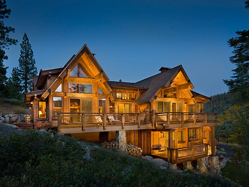 Nicest home in alpine beautiful new modern mountain for New homes in mountain house