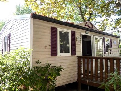 Photo for Camping Des Deux Soleils **** - Mobile Home O'Hara 3 Rooms 4 Persons