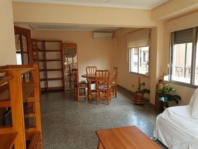 Photo for Bright apartment, close to the beach of Las Arenas.