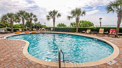 Photo for Ocean View Suite for 6 with Private Balcony | 2 Pools + Hot Tub Access