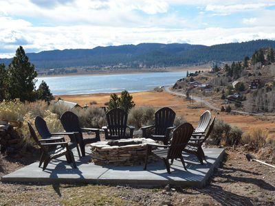 Photo for Beautiful Cabin with Incredible Views of the Lake and Mountains - 2nd to None!