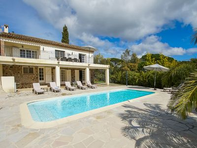 Photo for Sainte maxime - nice property with swimming pool in calm and green situation