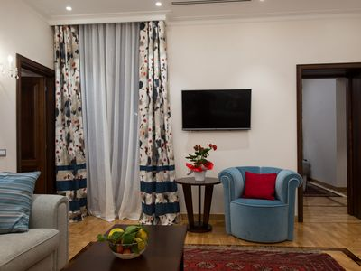 Photo for Luxury 2 BD apartment close to Villa Borghese