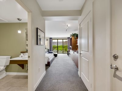 Photo for Beautiful contemporary resort studio condo gorgeous mountain and sunset view
