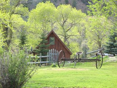 Photo for Cabin the River~ only 10 Min to Yellowstone! Sits on banks of Yellowstone River