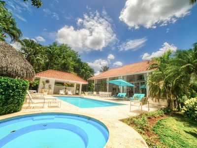 Photo for PRIVATE 5-STAR DREAM VILLA WITH POOL, HEATED JACUZZI, COOK, MAID & GOLF CART.