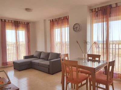 Photo for Vinaros: Apartment NEW! Modern and comfortable. VIEWS SEA. To 4 min. walking beaches