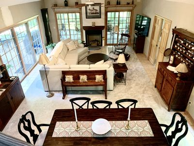 Photo for Charming, private family home 300 yds from AI Beach, golf cart, bikes