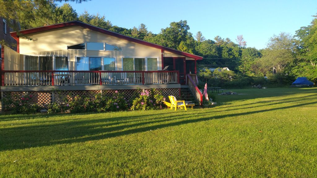 One Of A Kind Large Lakefront Home Near Sunday River Ski