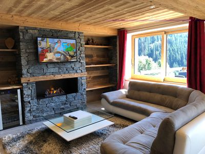 Photo for Apartment 8 people comfort in a Savoyard chalet