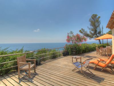 Photo for Panoramic sea view villa