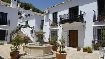 Photo for Peaceful, idyllic holidays in Mijas mountain village apartment, perfect for two.