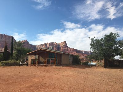 Photo for Comfortable Home with Breathtaking  Views of the Vermilion Cliffs!