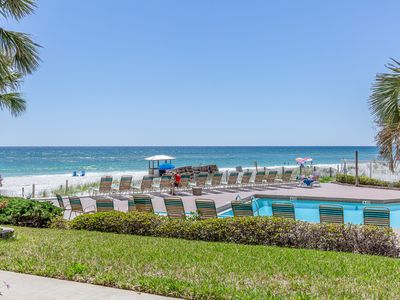 Photo for ☀Pelican Walk 109☀DEAL! Oct 26 to 29 $646 Total! Beachfront for 6! Remodeled!