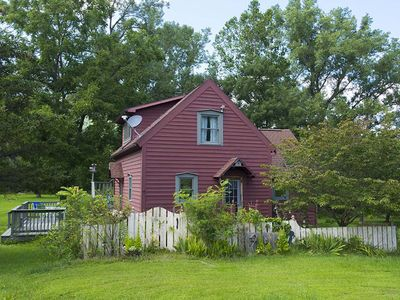 Photo for Cottage @ Hunt Hollow: unplug w/ hiking, waterfalls and FLX wineries minute away