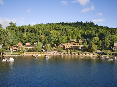 Photo for 9 Bedroom Country Inn at Trout House Resort on Lake George