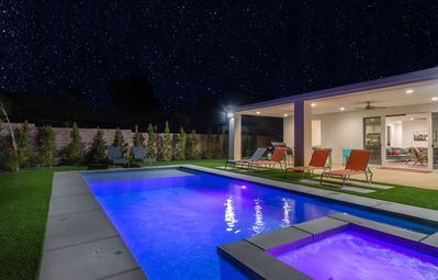 Photo for Sophisticated Home, Brand New Build, Custom Pool & Spa, Minutes to Palm Springs
