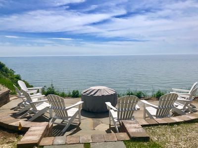 Photo for Lakefront Home w/Fire Pit, Private Yard & Endless Views