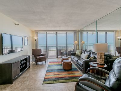 Photo for Remodeled Lighthouse Towers 2/2 Sand Key Direct Beachfront