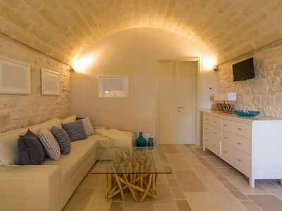 Photo for Stunning Trullo in quiet Olive Grove - apartment Cielo