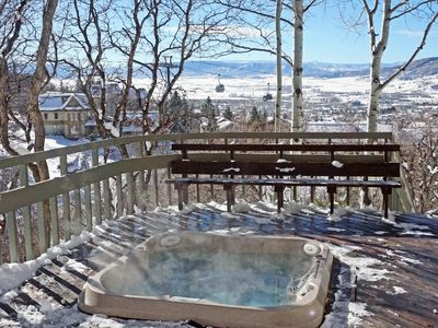 Photo for **Discounted Lift Tickets** Pet Friendly, Private Hot Tub, Less Than 100 Yards to Slopes