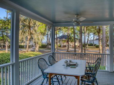 Photo for GORGEOUS COTTAGE W/ HUGE PORCH &  SWING BED! CART! Secluded Island w No Crowds!!