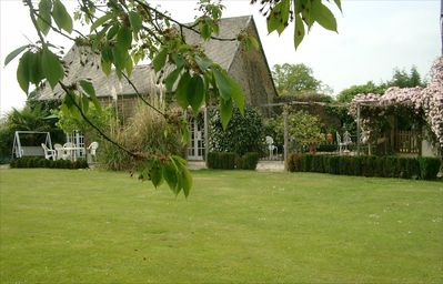 Photo for Rural Bliss! Abeautiful 2 acre garden surrounding a modernised yet old cottage