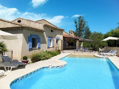 Photo for Vacation home La Souate  in Fayence, Côte d'Azur hinterland - 8 persons, 4 bedrooms