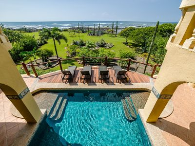 Photo for Oceanfront Dream Vacation Home with Incredible Views and Pool