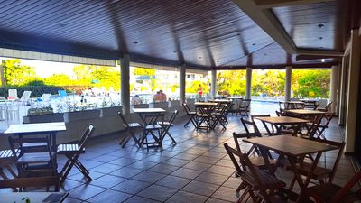 Photo for Apto FOOT IN THE SAND, sea view, pool, bar, restaurant and breakfast !!