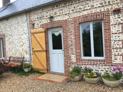 Photo for Gîte le VAL ** - In a quiet, well-Norman Normandy longhouse