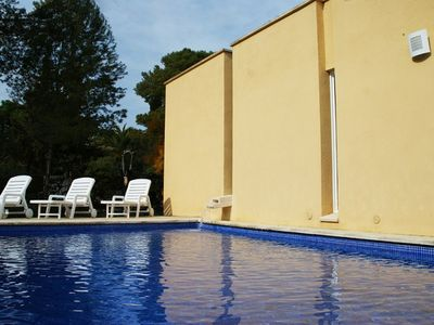 Photo for Club Villamar - Charming modern villa with air conditioning throughout the house, a nice private ...