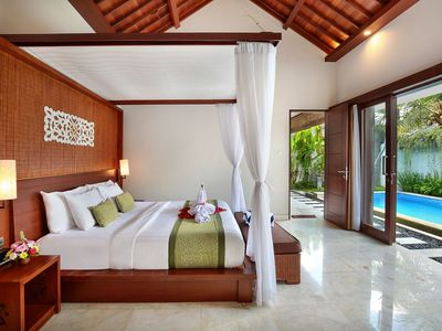 Photo for Cozy and Spacious One Bedroom Deluxe Villa in Jimbaran with a private pool