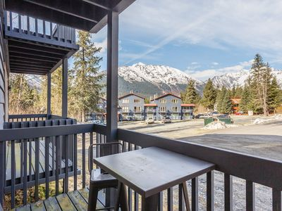 Photo for Modern condo with views and convenient location near skiing, biking, and more