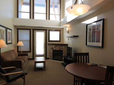 Photo for Silver Rock Condos Hot Tub, Swimming Pool, Steam Room & Underground Parking - 1 Bedroom, Sleeps 4, Mountain View, Unit #421