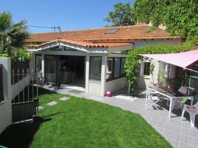 Photo for Renting a charming Mazet of 80m2 with Garden Terrace