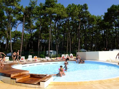 Photo for Camping La Plage Riez *** - Mobilhome 6 people - 6 places (between 0 and 5 years)