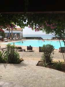 Photo for Two Bedroom Poolside Apartment Close to Beach with Stunning Sea Views