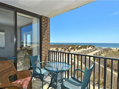 Photo for OCEAN FRONT CONDO, Labor Day week available