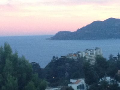 Photo for 2 BED APT IN CANNES, SEAVIEW, LARGE TERRACE,TWO POOLS/GARDENS