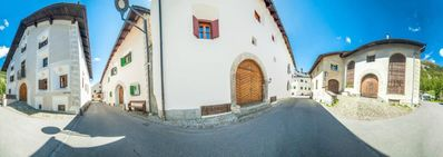 Photo for Holiday apartment Bever for 4 persons with 1 bedroom - Historical building