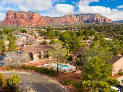 Photo for Red Rock Retreat~ 1BD/1BA Condo In The Village ~ Everything You Need Nearby!