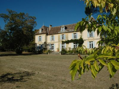Photo for Near Bergerac, an elegant 19th century family home with swimming pool