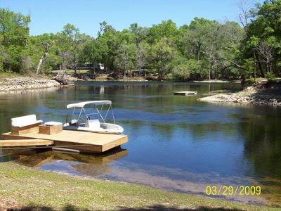 Photo for River Bend Oasis on the Beautiful Santa Fe River