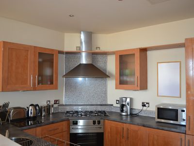 Photo for Stunning 2 bedroom,2 bathroom apartment with secure underground car parking